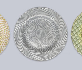 Glass Charger Plates